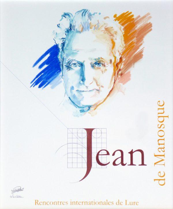 Cyril de La Patellière, Jean Giono, affiche pour les Rencontres de Lure, maquette sur toile, 1995 (Centre Jean Giono, Manosque, Alpes de Haute-Provence) (© C. de La Patellière)