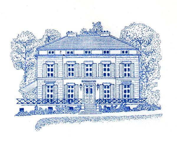 Guy Vigoureux, Maison particulière, papier à lettre, gravure en taille-douce (© G. Vigoureux)
