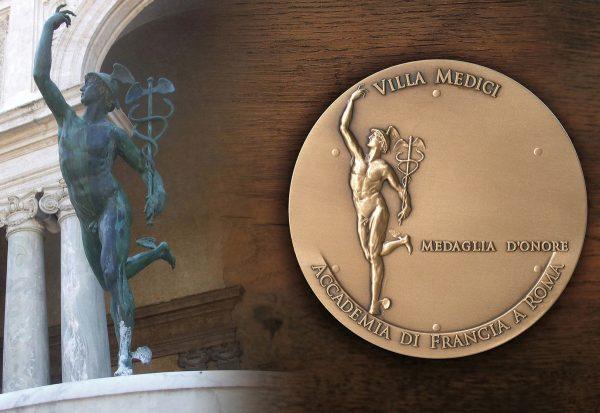 Nicolas Salagnac, médaille Académie de France à Rome, Villa Médicis, revers, édition Arthus-Bertrand, 2008 (© N. Salagnac)