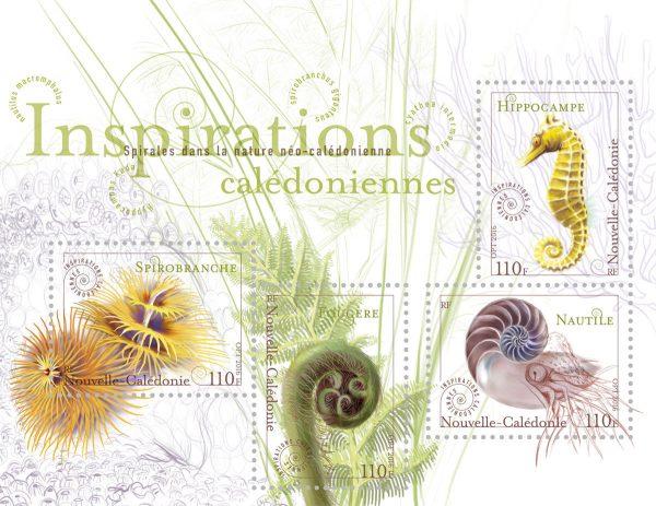 Nouvelle Calédonie. Inspirations calédoniennes, 2016 (création graphique, illustration et typographie de Sylvie Patte et Tanguy Besset, impression offset) (© OPT NC / S. Patte et T. Besset)