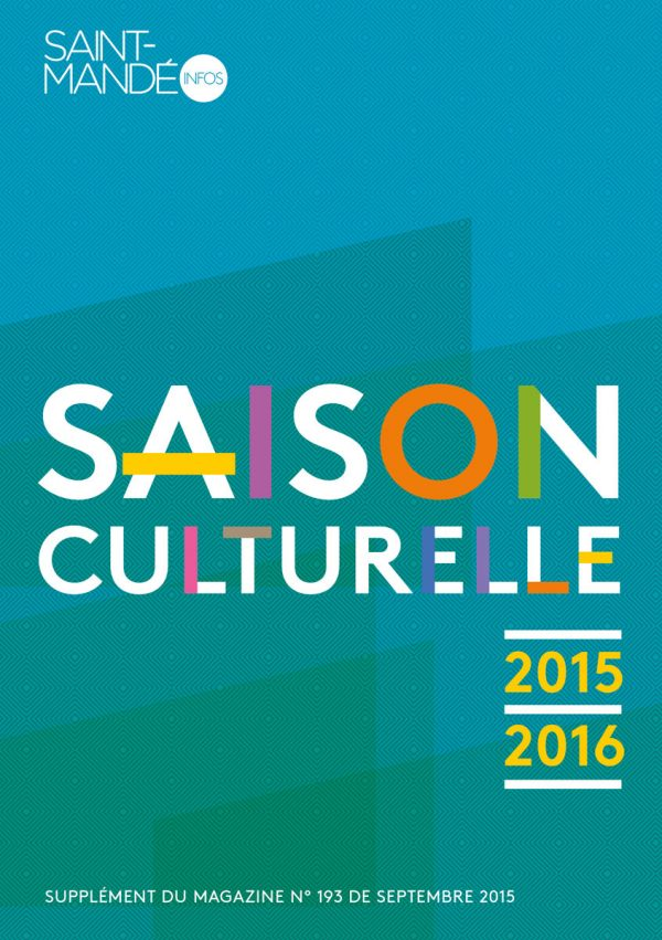 Valérie Besser, couverture d'un supplément au magazine de la ville de Saint-Mandé, 2015 (© V. Besser)