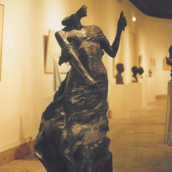 """Exposition de sculptures de Cyril de la Patellière à la """"Haus der Kunst"""" à Munich du 12 au 24 mars 2018"""