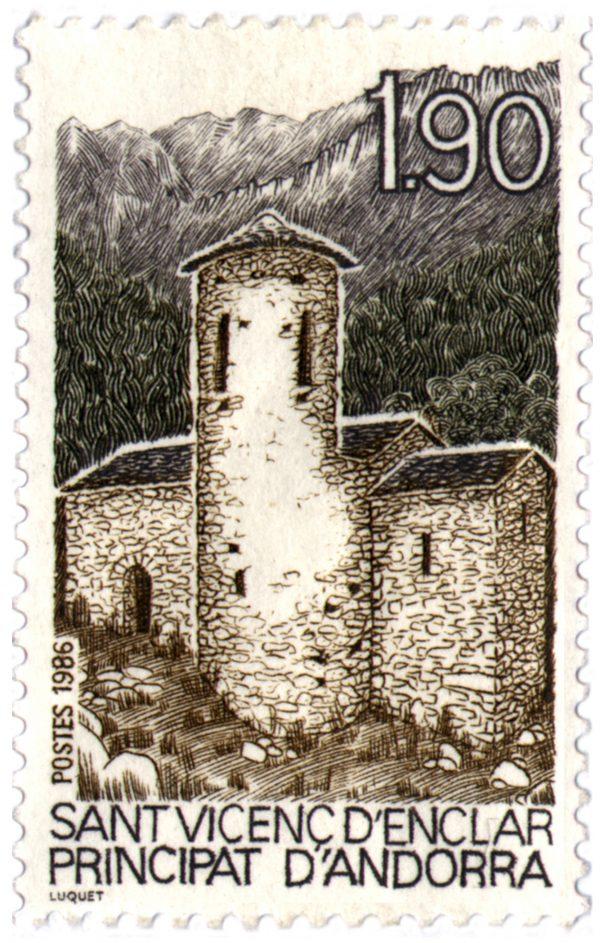 Sant Vicenç d'Enclar, Principauté d'Andorre, 1986