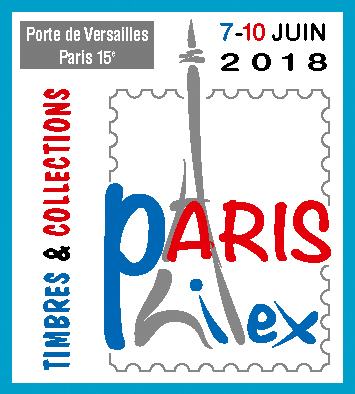 Logo du salon Paris-Philex 2018 (© CNEP/Arlys création)