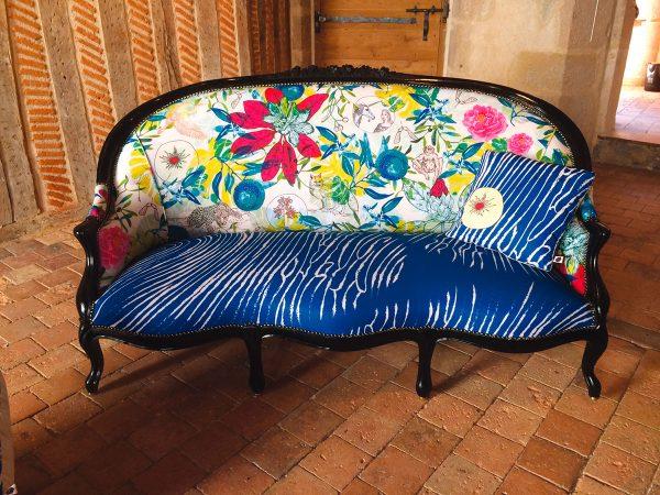 Création textile de Sandrine Chimbaud