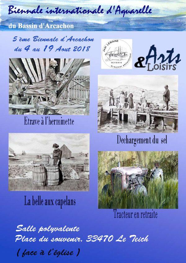Affiche Biennale d'Arcachon