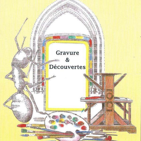 Illustration d'un dépliant de l'association La Fourmi - La Motte, Mazerier (©. MN.Goffin)