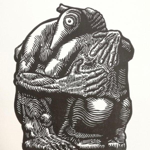 Christophe Laborde-Balen, gravure en taille d'épargne.