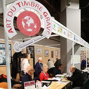 Stand ATG au Salon philatélique d'automne 2018(© ATG/L. Le Tiec)