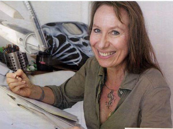 Nadia Charles, illustratrice.