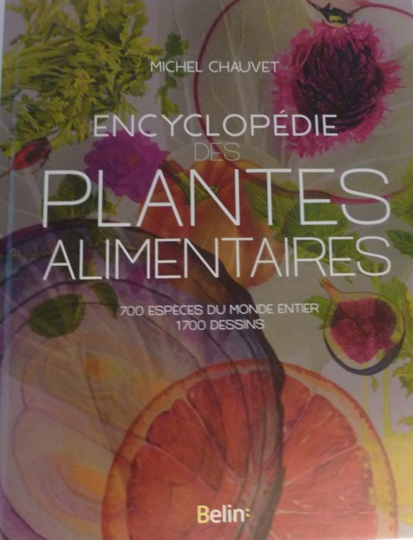 Michel Chauvet, Encyclopédie des plantes alimentaires, éditions Belin, 2018, 880 p. (1700 dessins de 19 illustrateurs).