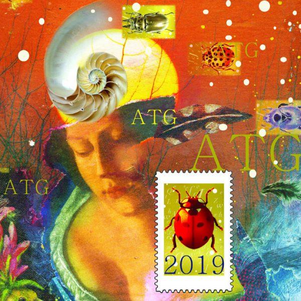 Carte de vœux virtuelle ATG 2019 illustrée par Christelle Guénot, détail(©ATG/ C. Guénot)