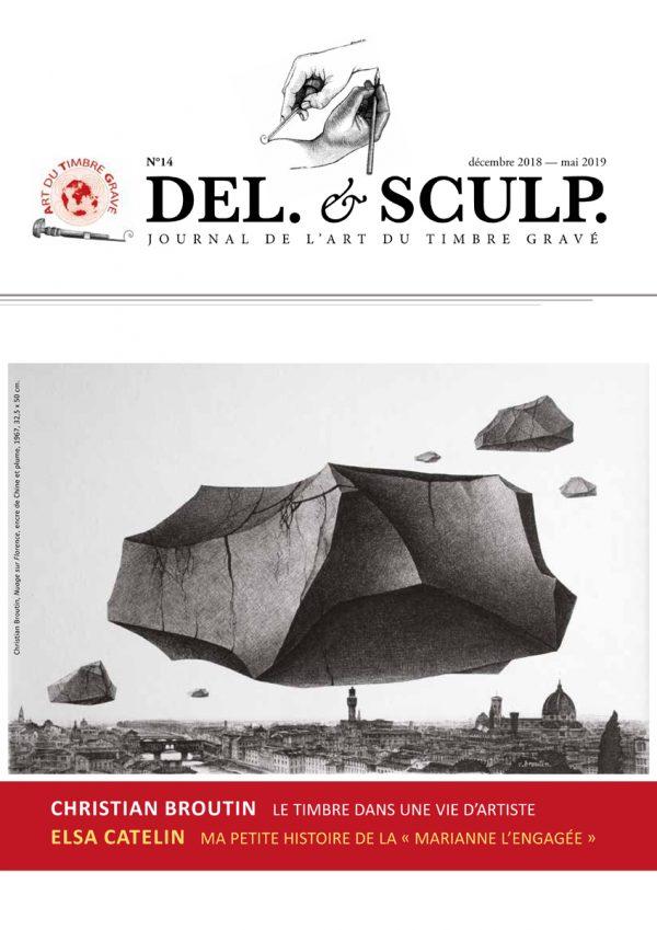 Revue Del et Sculp, n° 14, décembre 2018 - mai 2019, 16 p.