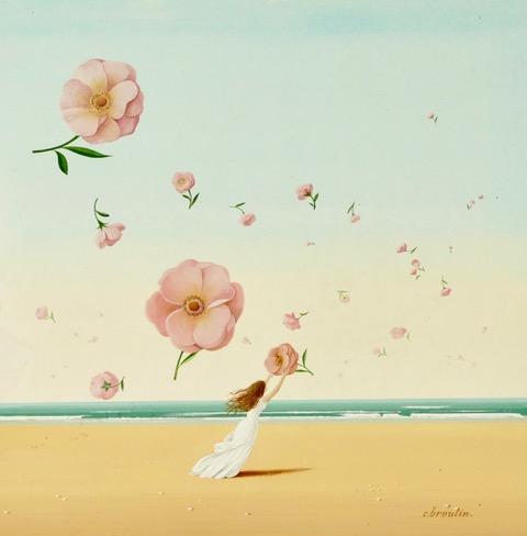 """Carte de vœux 2019 de Christian Broutin. """"Cueillez dès aujourd'hui les roses de la vie"""" (© C.Broutin)"""