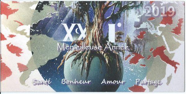 Carte de vœux 2019 de Thierry Mordant (© T.Mordant)