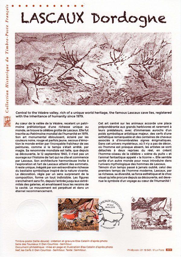 Document philatélique Lascaux