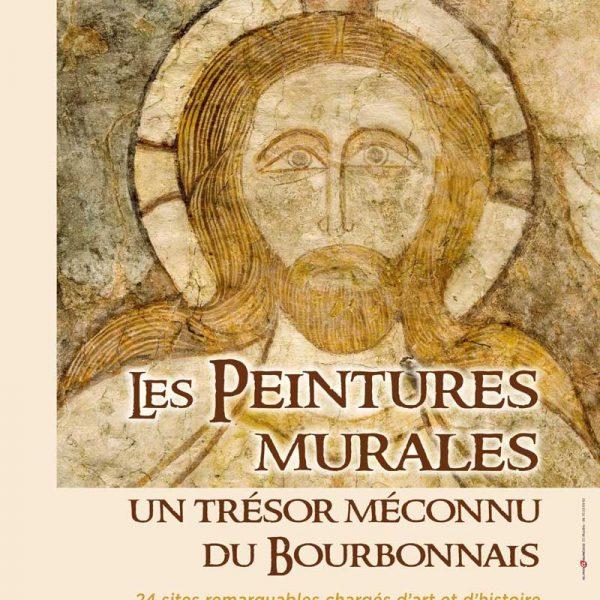 Affiche de l'exposition, Les peintures murales, un trésor méconnu du Bourbonnais, Moulins, 2019 © Département Allier