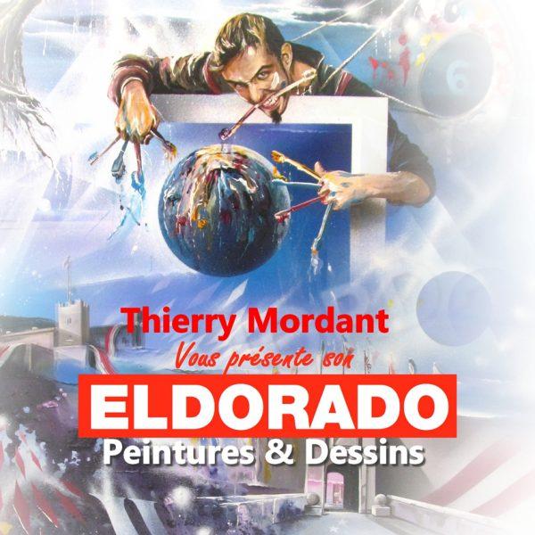 Thierry Mordant, affiche de l'exposition Eldorado, Lille, 2019 © T. Mordant