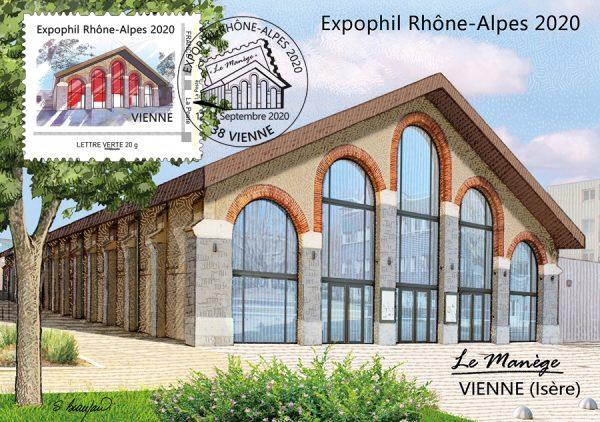 Carte postale Expophil 2020