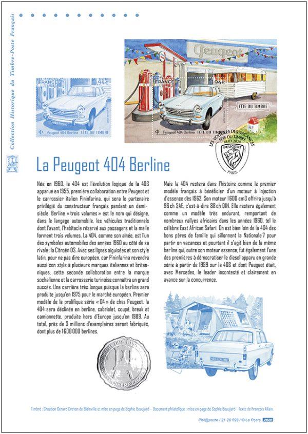 Document philatélique 404