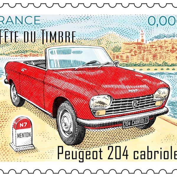 Timbre Peugeot 204